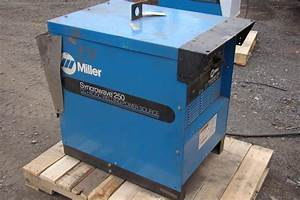 Miller Syncrowave Cc Ac  Dc Welding Power Source 250