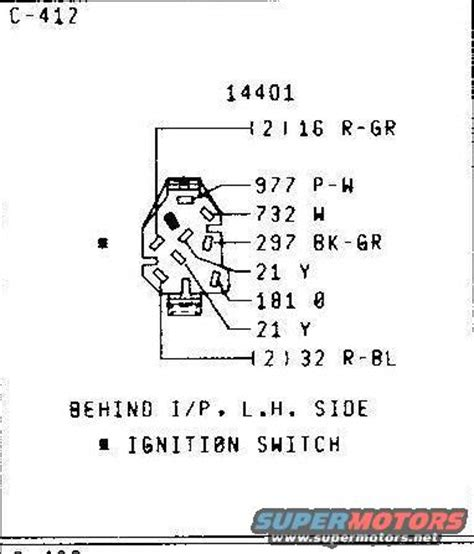 78 Ford Ignition Switch Wiring Diagram by 79 Wiring Schematics Ford Truck Enthusiasts Forums