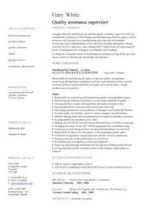 quality assurance resume manufacturing engineering cv template engineer manufacturing resume