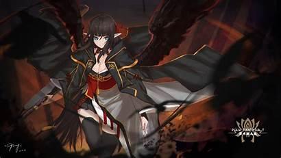 Demon Dark Elf Wings Anime Wallpapers Theme