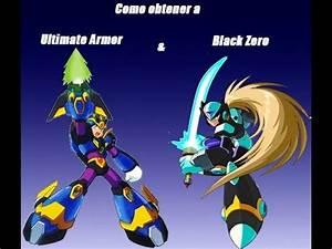 Megaman X4 | Cómo Conseguir Ultimate Armor & Black Zero ...