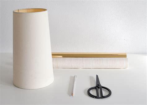 comment transformer un abat jour avec une finition faux bois bricobistro