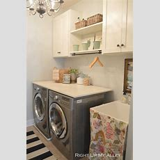 Beautifully Organized Small Laundry Rooms  The Happy Housie