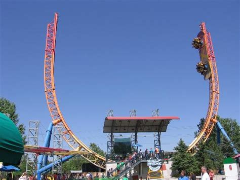 elitch gardens theme park half pipe picture of elitch gardens theme park denver