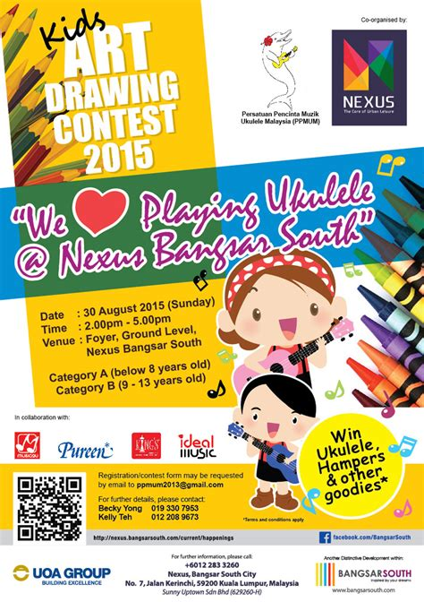 kids art drawing contest  nexus