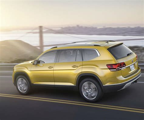 volkswagen atlas new vw atlas is the first ever 7 seat suv of the brand