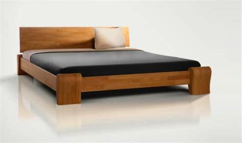 chambre a coucher moderne en bois massif lit 2 places bona mobilier en bois massif pour chambre