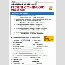 Present Continuous  All Things Grammar