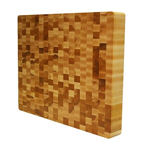 Kobi Blocks Maple End Grain Butcher Block Wood Cutting