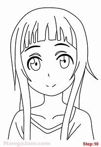 How To Draw Yui From Sword Art Online