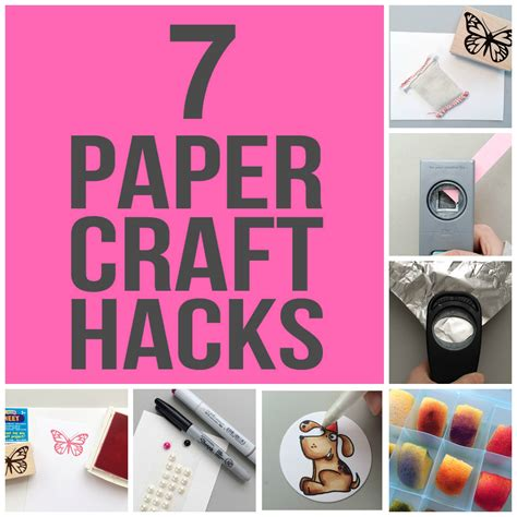 paper crafting tips tricks thatll save  time money