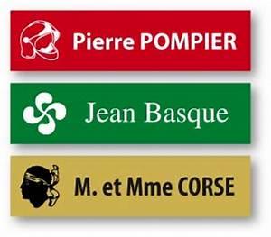 Plaque Pour Boite Aux Lettres :  ~ Dailycaller-alerts.com Idées de Décoration