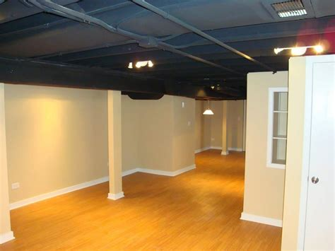 Exposed Basement Ceiling Lighting Ideas by Exposed Basement Ceiling Ideas Instant Knowledge