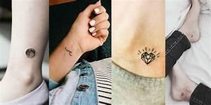 Tatouage Lune Poignet : 1001 designs minimalistes d 39 un tatouage femme discret ~ Melissatoandfro.com Idées de Décoration