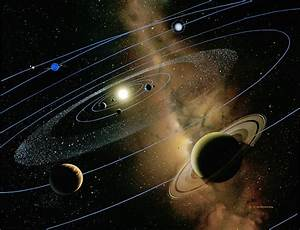Saturn And Solar System Photograph by Detlev Van Ravenswaay