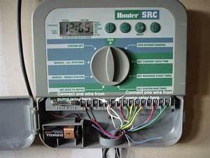 Hunter Src Sprinkler System