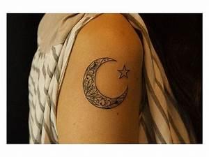 Tatouage Lune Poignet : tatouage lune soleil etoile signification ~ Melissatoandfro.com Idées de Décoration