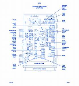 Dodge Grand Caravan 2005 Fuse Box  Block Circuit Breaker Diagram