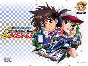 Future GPX Cyber Formula Anime