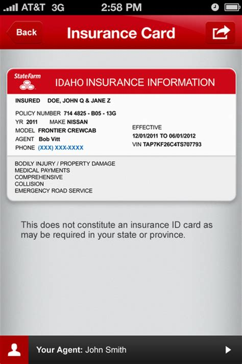 state farm insurance card template 16 any question answered what is a car insurance excess tinadh