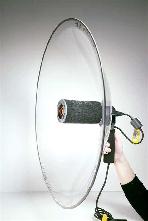 parabolic microphone kit  wiki