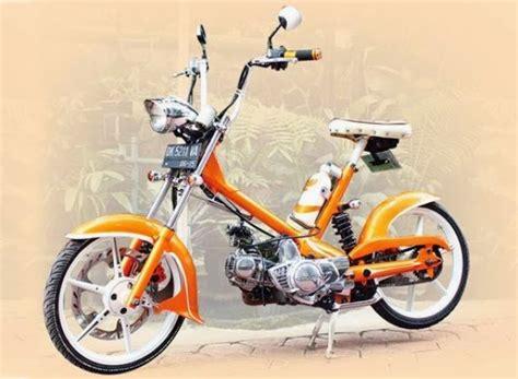 Modifikasi Bebek 70 by Kumpulan Foto Hasil Modifikasi Motor Honda 70 Modif