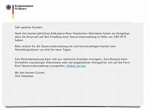 Steuern Für Mieteinnahmen : fake die mail vom bundeszentralamt f r steuern mimikama ~ Frokenaadalensverden.com Haus und Dekorationen