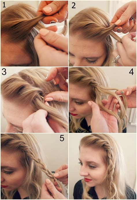 front side twist hairstyle step by hair