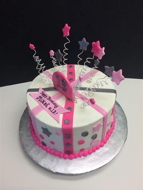 birthday cake  stars stripes  polka dots