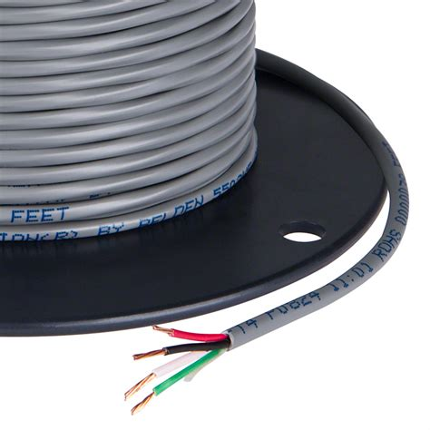 pvc jacketed 18 wire four conductor power wire