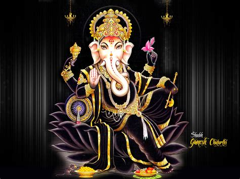 Vinayagar Animation Wallpaper - lord ganesha images wallpapers photos pics