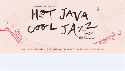hot java cool jazz garfield high school ptsa