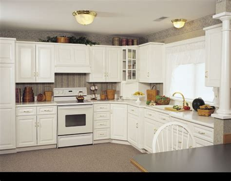White Country Kitchen Cabinets Styles