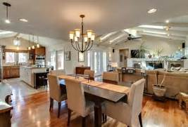 Living Room Dining Room Combo Lighting Ideas by Kitchen Dining Room Hearth Room Combo Pretty Much My Dream Kitchen Dining L