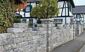Günstig Mauer Bauen : gartenmauer wege z une ~ Sanjose-hotels-ca.com Haus und Dekorationen