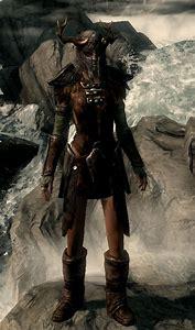 Skyrim Ancient Nord Armor Female