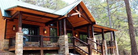 beavers bend cabin rentals white waters secluded beavers bend cabin on 40