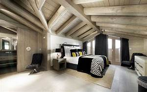 Bedroom Bright Modern Loft Area Interior Design Home