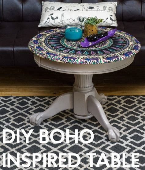 DIY Boho Inspired Table   DIYIdeaCenter.com