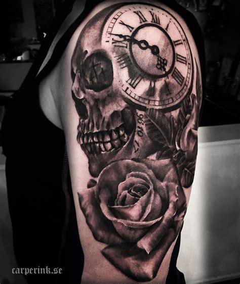 awesome clock tattoos  women  men awesome tat