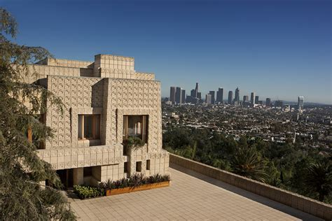 Frank Lloyd Wright's Ennis House is Back on the Market