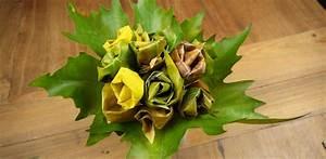 Aus Blättern Basteln : in herbst basteln mit kindern herbstlicher rosenstrauss ~ Lizthompson.info Haus und Dekorationen