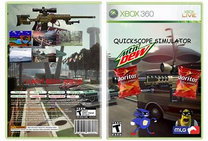 Scope Quick Simulator 360 Xbox Box Vgboxart
