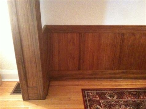 what color paint to brighten up gumwood paneling