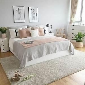 1001 idees pour chambre rose et gris les nouvelles With tapis oriental avec canapé vieux rose