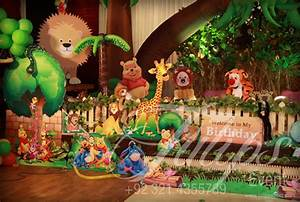 Tulips Event - Best jungle safari Birthday Party Theme