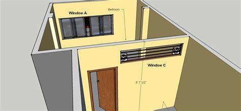 ventilation   diy window fan setup  cool