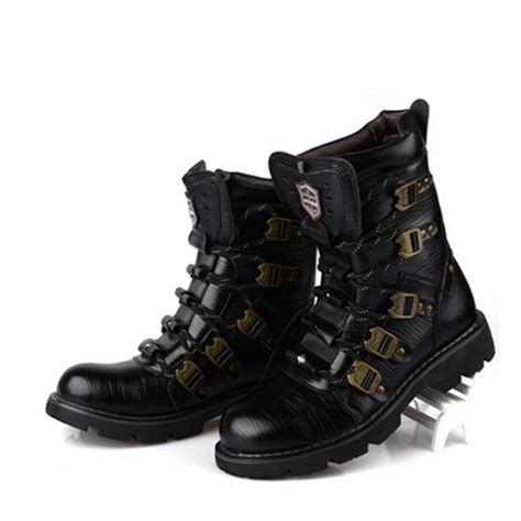 best street bike boots 2015 street top rock fashion super cool men 39 s motorcycle