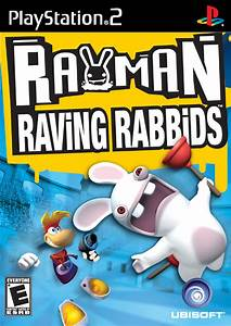 Rayman Raving Rabbids Sony Playstation 2 Game