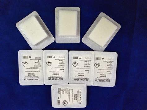 absorbing gelatin hemostatic collagen sponge